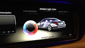2014 s class ambient light show youtube ambient interior lighting
