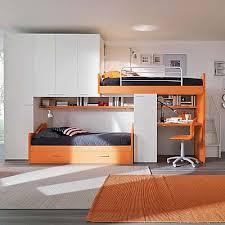 small bedroom furniture sets. Kid\u0027s Bedroom Furniture Set Orange With Truckle-bunk Beds Small Sets P