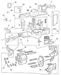 4734225ab genuine mopar actuator recirculation door dodge grand caravan parts diagram 2000 dodge caravan air conditioning diagram