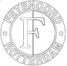 Kleurplaat Feyenoord Logo Logo Vector Online 2019