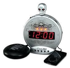 best loud alarm clock sonic alert loud alarm clock the skull with vibrating shaker loud alarm