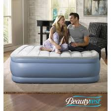 Simmons Bedroom Furniture Simmons Beautyrest Hi Loft Raised Air Bed Mattress With Express