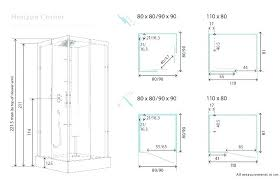 shower sizes standard shower dimensions corner shower sizes standard shower dimension medium size of shower base