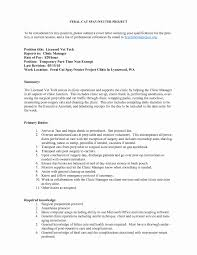 Project Management Cover Letter Example Inspirational Resume ...
