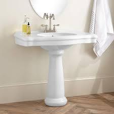 large pedestal sink. Delighful Sink Carden Porcelain Pedestal Sink And Large G