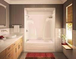living exquisite one piece shower with bathtub 11 and units best enclosure bathroom surround tub corner