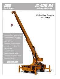 Ic 400 3a Broderson Manufacturing Corp Manualzz Com