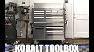 kobalt snless steel tool cabinent
