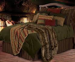 image of rustic bedding sets king