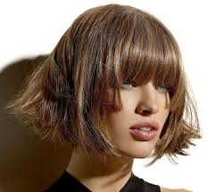 Hairstyles With Blunt Fringe Hairstyles With Blunt Bangs
