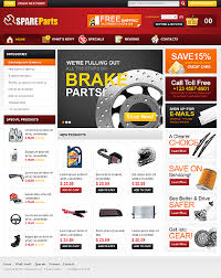 auto parts website template oscommerce spare parts template 33970