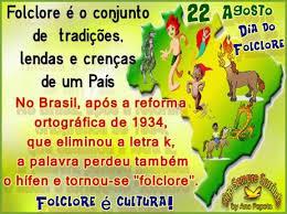Resultado de imagem para dia nacional do folclore