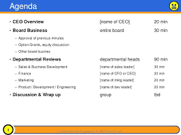 Powerpoint Meeting Agenda Template 5 Layouts Sample Board ...