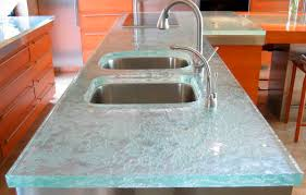 glass countertop kitchen ultimate