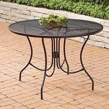 iron patio furniture.  Iron Metal Patio Tables To Iron Furniture E