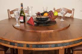 dining room table lazy susan