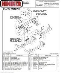 hiniker plow mount gm4x4 039 99 039 10k2500 2500hd 3500 1500hd image is loading hiniker plow mount gm4x4 039 99 039 10k2500