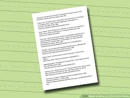 how to write an informative essay pictures wikihow image titled write an informative essay step 5