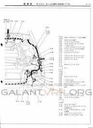 jdm galant owners cyclone manifolds need specific picture heres the wiring diagram for the whole engine management system