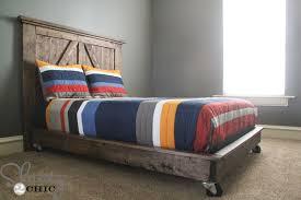 Platform Bed On Wheels
