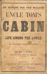 uncle tom s cabin paperback edition for the million boston john p jewett co