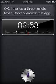 I Asked Siri To Set The Timer For Three Minutes Apple