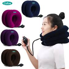 <b>Cofoe Neck Traction</b> Device 3 Layers for Neck&Shoulder Pain Relief ...
