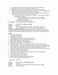 Sample Resume For Sap Fico Consultant New 51 Elegant Sap Basis ...