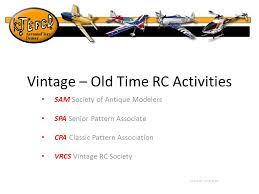 Senior Pattern Association Enchanting Vintage Old Time RC Activities SAM Society Of Antique Modelers SPA