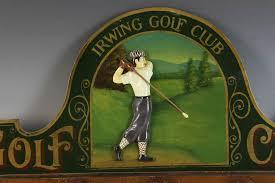 Golf Coat Rack Stunning Lot Detail Irwin Golf Club Coat Rack