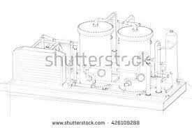 gas compressor icon. a gas compressor is mechanical device that icon