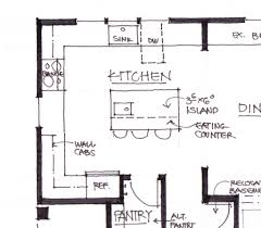 Kitchen Island Layout Kitchen Plans With Island Home Decor Gallery