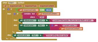 StockQuotes For App Inventor 40 Explore MIT App Inventor Custom Stock Quote For T