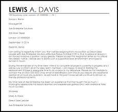 Resignation Template Uk Friendly Resignation Letter Example Letter Samples Templates
