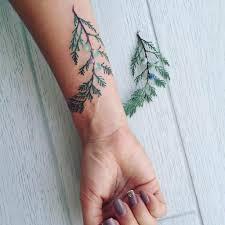 Pis Saro изящные ботанические тату для нежных леди