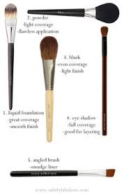 make up brush guide love the jane iredale brushes makeup basics basic makeup