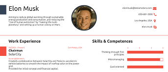 Elon Musk's One Page CV Show How You Never Actually Need More Than One Page