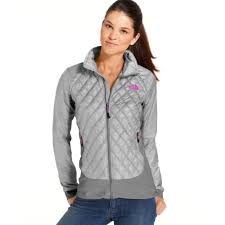 Lyst - The north face Thermoball Quilted Jacket in Gray & Gallery Adamdwight.com