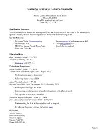 Nursing Resume Examples 2015 Charge Nurse Resume Therpgmovie 27