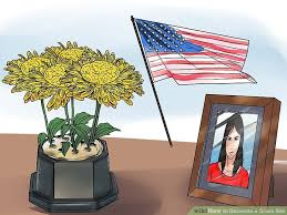 waterproof picture frames for cemetery how to decorate a grave site with pictures wikihow