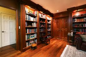 traditional hidden home office. Library Bookcases. Hidden Storage In Bookcases Traditional Home Office -