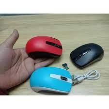 Chuột không dây pin xạc genius Eco 8100