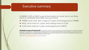 Nwbo Cldx And Imuc Should You Invest