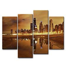 wall art paintings for living roomAmazoncom Canvas Print Wall Art Painting For Home Decor Modern