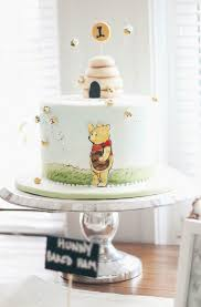 Classic Winnie The Pooh Cake Designs A Classic Winnie The Pooh 1st Birthday For Bennett See