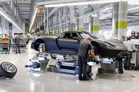 the 887 hp porsche 918 spyder will get 85 to 94 mpg the 887 hp porsche 918 spyder assembly room