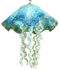 blown glass chandelier art glass chandelier lighting jellyfish pendant