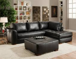 black leather sectional sofas. Wonderful Leather Kiara Black Sectional Sofa Inside Leather Sofas