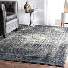 attractive blue gray area rugs rouge traditional distressed oriental blue grey area rug anzell blue gray
