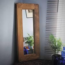 wooden framed mirrors handmade rustic